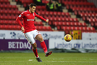 Michal Zyro of Charlton Athletic, currently on loan from Wolverhampton Wanderers during Charlton Athletic vs Oxford United, Sky Bet EFL League 1 Football at The Valley on 3rd February 2018