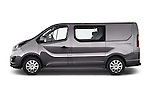 Car Driver side profile view of a 2015 Opel Vivaro Sportive 4 Door Combi 2WD Side View