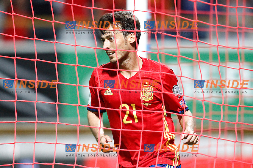 Spain's David Silva celebrates goal during FIFA World Cup 2018 Qualifying Round match. September 5,2016.(ALTERPHOTOS/Acero)<br /> Spagna - Liechtenstein <br /> Foto Insidefoto <br /> ITALY ONLY