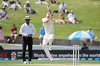 1st December 2019, Hamilton, New Zealand;  Tim Southee opens the bowling. International test match cricket, New Zealand versus England at Seddon Park, Hamilton, New Zealand. Sunday 1 December 2019.