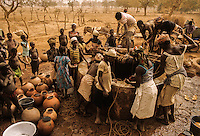 Traditional village well in the Sahel