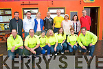 Marathon : Members of the Kerry  Crusaders prior to their departure for Dudlin to take part in the Dublin City Matahon.
