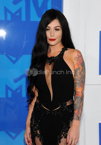 NEW YORK, NY - AUGUST 28:Jenni 'JWoww' Farley attend the 2016 MTV Video Music Awards at Madison Square Garden on August 28, 2016 in New York City Credit John Palmer / MediaPunch