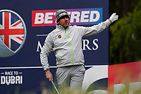 Lee Westward is wayward off the tee on the 6th during the Hero Pro-am at the Betfred British Masters, Hillside Golf Club, Lancashire, England. 08/05/2019.<br /> Picture David Kissman / Golffile.ie<br /> <br /> All photo usage must carry mandatory copyright credit (© Golffile | David Kissman)