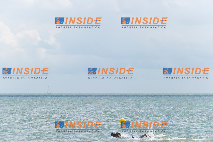 Race<br /> Hoorn, Netherlands <br /> LEN 2016 European Open Water Swimming Championships <br /> Open Water Swimming<br /> Men's 5km<br /> Day 02 12-07-2016<br /> Photo Giorgio Perottino/Deepbluemedia/Insidefoto