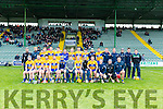 Clare Panel  at the Munster Hurling League match Kerry v Clare in Austin Stack Park on Sunday
