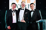 © Joel Goodman - 07973 332324 . 01/03/2018 . Manchester , UK . Team of the Year – Private Client winner is Slater and Gordon . The Manchester Evening News Legal Awards at the Midland Hotel in Manchester City Centre . Photo credit : Joel Goodman