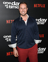 "07 February 2019 - Los Angeles, California - BRENT MILLER. Netflix's ""One Day at a Time"" Season 3 Premiere and Global Launch held at Regal Cinemas L.A. LIVE 14. Photo Credit: Billy Bennight/AdMedia"