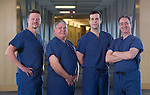 Doctors from Alaska Center for Ear Nose and Throat (ACENT) photographed at Providence Hospital.