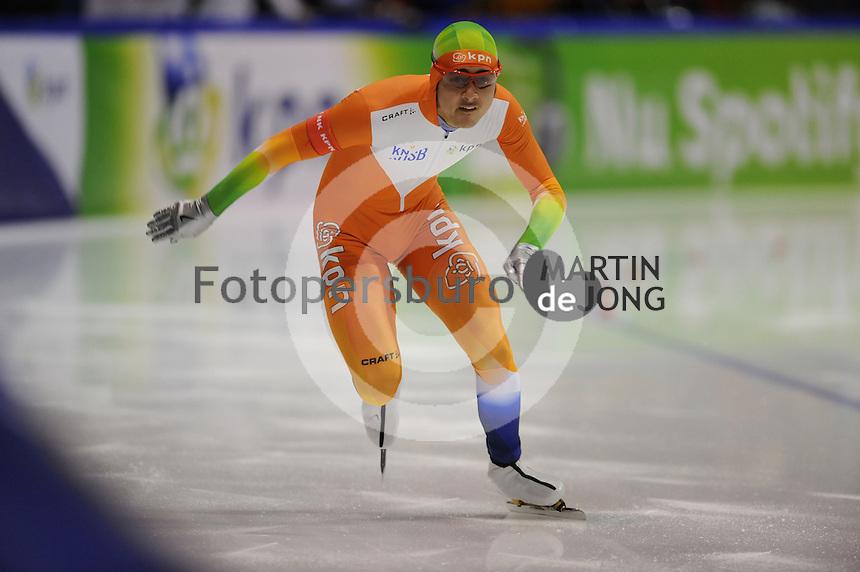 SCHAATSEN: HEERENVEEN: Thialf, KPN NK Sprint, 30-12-11, Kai Verbij, ©foto: Martin de Jong.