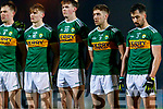 Jack Barry Diarmuid O'Connor  Gavin O'Brien 9Jack Sherwood Kerry players before the Allianz Football League Division 1 Round 3 match between Kerry and Dublin at Austin Stack Park in Tralee, Kerry on Saturday night.
