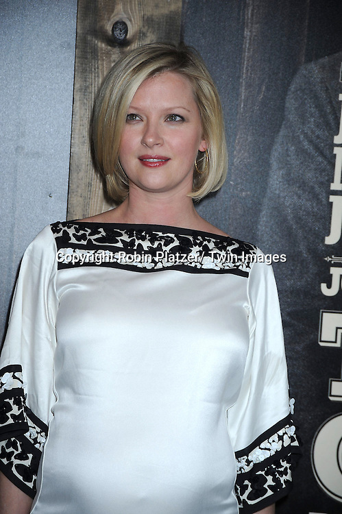 "Gretchen Mol  attending The New York Premiere of .""True Grit"" on December 14, 2010 at The Ziegfeld Theatre. The movie stars Jeff Bridges, Matt Damon and Hailee Steinfeld."