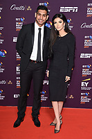 Amir Khan and wife, Faryal Makhdoom <br /> at the BT Sport Industry Awards 2017 at Battersea Evolution, London. <br /> <br /> <br /> ©Ash Knotek  D3259  27/04/2017
