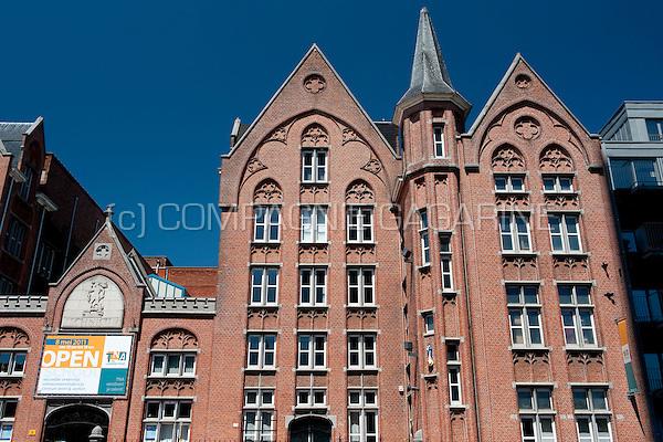 The Technicum Noord-Antwerpen 'de Londenstraat' school in Antwerp (Belgium, 25/05/2011)