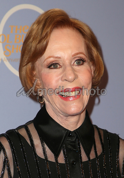 "04 October 2017 - Los Angeles, California - Carol Burnett. CBS ""The Carol Burnett Show 50th Anniversary Special"". Photo Credit: F. Sadou/AdMedia"
