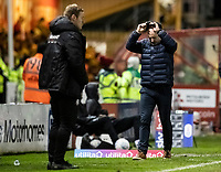 Bolton Wanderers' manager Keith Hill raises his cap<br /> <br /> Photographer Andrew Kearns/CameraSport<br /> <br /> The EFL Sky Bet League One - Lincoln City v Bolton Wanderers - Tuesday 14th January 2020  - LNER Stadium - Lincoln<br /> <br /> World Copyright © 2020 CameraSport. All rights reserved. 43 Linden Ave. Countesthorpe. Leicester. England. LE8 5PG - Tel: +44 (0) 116 277 4147 - admin@camerasport.com - www.camerasport.com