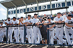 Masahiro Tanaka (Yankees),<br /> MARCH 4, 2015 - MLB : Masahiro Tanaka (the fourth from the left) of the New York Yankees and his teammates are senn during a spring trainig baseball game against the Philadelphia Phillies at George M. Steinbrenner Field in Tampa, Florida, United States. (Photo by Thomas Anderson/AFLO) (JAPANESE NEWSPAPER OUT)