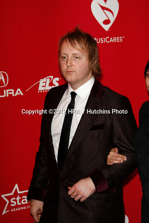 vLOS ANGELES - FEB 10:  James McCartney arrives at the 2012 MusiCares Gala honoring Paul McCartney at LA Convention Center on February 10, 2012 in Los Angeles, CA
