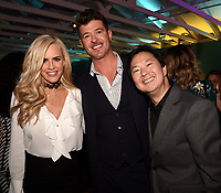 LOS ANGELES, CA - FEBRUARY 6: Jenny McCarthy, Robin Thicke and Ken Jeong attends the FOX Winter TCA 2019 All Star Party at The Fig House on February 6, 2019 in Los Angeles, California. (Photo by Frank Micelotta/Fox/PictureGroup)