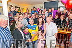Batty Foley from Killorglin celebrated his 50th birthday surrounded by friends and family in the Bunkers Bar, Killorglin last Saturday night.