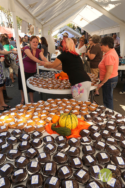 32nd Annual Selinsgrove Market Street Festival. Whoopee pie display.