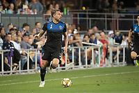 SAN JOSE,  - SEPTEMBER 1: Guram Kashia #37 of the San Jose Earthquakes during a game between Orlando City SC and San Jose Earthquakes at Avaya Stadium on September 1, 2019 in San Jose, .
