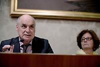 Roma, 3 Aprile 2017<br /> Claudio e Paola Regeni, genitori di Giulio.<br /> Conferenza stampa al Senato della famiglia di Giulio Regeni, il giovane ricercatore scomparso e trovato morto con evidenti segni di torture in Egitto a febbraio del 2016