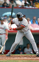 Detroit Tigers Cecil Fielder during Spring Training circa 1992 at Chain of Lakes Park in Winter Haven, Florida.  (MJA/Four Seam Images)
