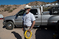 Jerry Delemus is commander of the militia camp &quot;Liberty&quot; established near Cliven Bundy's ranch in Bunkerville, Nevada. He came from New Hampshire with his son to defend Cliven Bundy.<br />