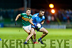Dara Moynihan Kerry in action against  James McCarthy Dublin during the Allianz Football League Division 1 Round 3 match between Kerry and Dublin at Austin Stack Park in Tralee, Kerry on Saturday night.
