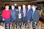 Rebel, Rebel: At the launch of  Billy Morgan's  autobiography  on Saturday night at the Listowel Arms Hotel, Stephen Stack, Listowel Emmets, Ger McKenna, Ballyduff, Sean Kelly MEP, who officially launched the book, Jimmy Deenihan TD, Billy Morgan and co- writer Billy Keane.