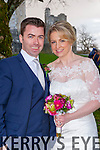 Edel Sugrue, Tralee, daughter of Tony and Mary and Colm? ? R?rd?n, Selbridge Kildare son of Eamon and Noreen who were married on Saturday