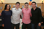 Karl Dyas with Martina, Kevin, Karl and Adam at his 21st in The Thatch...Photo NEWSFILE/Jenny Matthews.(Photo credit should read Jenny Matthews/NEWSFILE)....This Picture has been sent you under the condtions enclosed by:.Newsfile Ltd..The Studio,.Millmount Abbey,.Drogheda,.Co Meath..Ireland..Tel: +353(0)41-9871240.Fax: +353(0)41-9871260.GSM: +353(0)86-2500958.email: pictures@newsfile.ie.www.newsfile.ie.FTP: 193.120.102.198.