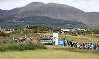 Saturday 30th May 2015; Jaco Van Zyl, South Africa,, tees off at 6th tee<br /> <br /> Dubai Duty Free Irish Open Golf Championship 2015, Round 3 County Down Golf Club, Co. Down. Picture credit: John Dickson / SPORTSFILE