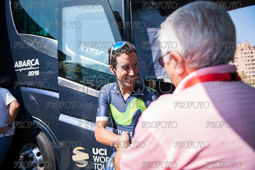 Castellon, SPAIN - SEPTEMBER 7: Jose Herrada during LA Vuelta 2016 on September 7, 2016 in Castellon, Spain