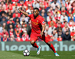 Daniel Sturridge of Liverpool during the English Premier League match at Anfield Stadium, Liverpool. Picture date: May 7th 2017. Pic credit should read: Simon Bellis/Sportimage