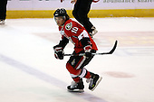 February 22nd 2008:  Tyler Donati (10) of the Binghamton Senators skates up ice during a game vs. the Rochester Amerks at Blue Cross Arena at the War Memorial in Rochester, NY.  The Senators defeated the Amerks 4-0.   Photo copyright Mike Janes Photography