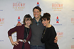 Jill Paice - Gabriel Ebert - Lesli Margherita at the 27th Annual Broadway Flea Market & Grand Auction to benefit Broadway Cares/Equity Fights Aids in Shubert Alley, New York City, New York.  (Photo by Sue Coflin/Max Photos)
