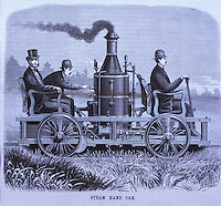 Technology:  Steam Hand Car.  SCI. AM.  Aug. 5, 1876.  Reference only.