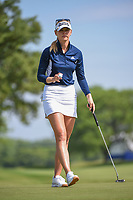 Jessica Korda (USA) after sinking her putt on 11 during the round 1 of the KPMG Women's PGA Championship, Hazeltine National, Chaska, Minnesota, USA. 6/20/2019.<br /> Picture: Golffile | Ken Murray<br /> <br /> <br /> All photo usage must carry mandatory copyright credit (© Golffile | Ken Murray)
