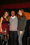 All My Children's Chrishell Stause, J.R. Martinez and Jamie Luner came to see fans on November 22, 2009 at the Brokerage Comedy Club & Vaudeville Cafe, Bellmore, NY for a Q & A, autographs and photos. (Photo by Sue Coflin/Max Photos)