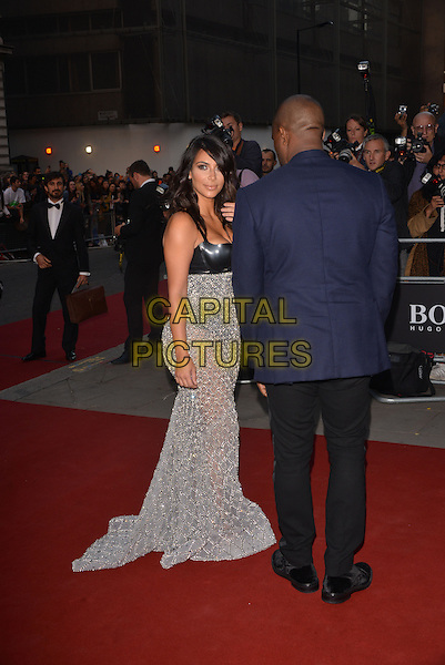 LONDON, ENGLAND SEPTEMBER 02:  Kim Kardashian; Kanye West  attend the GQ Men of the Year 2014 awards in association with Hugo Boss at The Royal Opera House on September 2, 2014 in London, England.<br /> CAP/PL<br /> &copy;Phil Loftus/Capital Pictures
