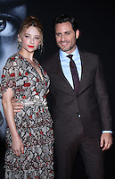 NEW YORK, NY-October 04:Haley Bennett, Edgar Ramirez at Universal Pictures presents the America premiere of Dreamworks and Rellance Entertainments The Girl on the Train  at Regal E-Walk Stadium 13 & RPX in New York.October 04, 2016. Credit:RW/MediaPunch