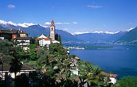 CHE, Schweiz, Tessin, Ronco sopra Ascona am Lago Maggiore | CHE, Switzerland, Ticino, Ronco sopra Ascona at Lago Maggiore
