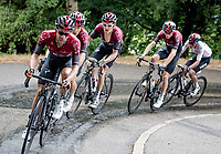 Jonathan Castroviejo (ESP/Ineos) leading the Ineos train up the final climb: the Col de Porte (with 3 Tour de France winners in his wake)<br /> <br /> Stage 2: Vienne to Col de Porte (135km)<br /> 72st Critérium du Dauphiné 2020 (2.UWT)<br /> <br /> ©kramon