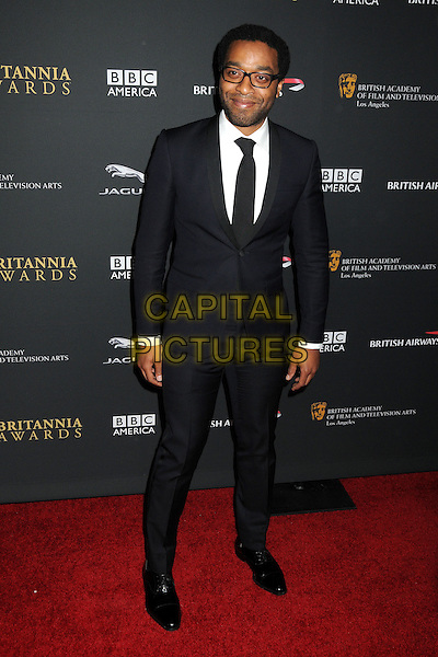9 November 2013 - Beverly Hills, California - Chiwetel Ejiofor. BAFTA LA 2013 Jaguar Britannia Awards held at the Beverly Hilton Hotel.  <br /> CAP/ADM/BP<br /> &copy;Byron Purvis/AdMedia/Capital Pictures