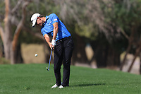 Jason Scrivener (AUS) on the 3rd during Round 3 of the Omega Dubai Desert Classic, Emirates Golf Club, Dubai,  United Arab Emirates. 26/01/2019<br /> Picture: Golffile | Thos Caffrey<br /> <br /> <br /> All photo usage must carry mandatory copyright credit (© Golffile | Thos Caffrey)