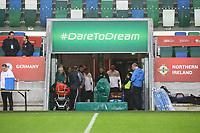 Deutsche Mannschaft träumt vom Sieg in Belfast - 04.10.2017: Deutschland Abschlusstraining, Windsor Park Belfast