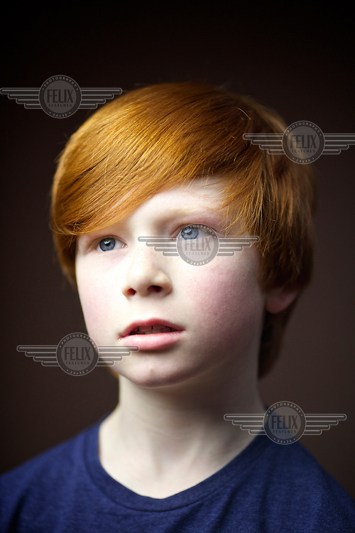 """Stewart Black, 9, Glasgow<br /> I was born in Glasgow, both side of the family have red hair. Mum says its red not ginger because ginger is a spice<br /> <br /> I have more confidence, maybe getting teased made me stronger. people touch my head and say """"oh it burns!"""" and call me volcano head but most of my friends support Celtic so thats ok.  I got teased at school but then I reminded them Neil Lennon (Celtic FC manager) is red and they stopped it. Others ask '""""Why is your hair that colour?  Do you drink a lot of Irn-Bru?"""".<br /> <br /> Mum says its very helpful to find me in a crowd. No-one in my year with red hair which we get trouble, I am easy to spot.<br /> <br /> I think it makes me faster at running than my friends and better at stuff than others.  it gives me strength!<br /> <br /> In India people took pictures of me, they said Mohammed had red hair."""