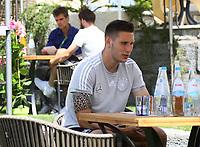 Niklas Süle (Deutschland Germany) - 05.06.2018: Media Day der Deutschen Nationalmannschaft zur WM-Vorbereitung in der Sportzone Rungg in Eppan/Südtirol